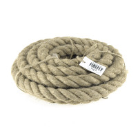 Natural Jute Fibre Rope, 20mm, 5-yard