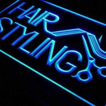 Hair Salon Styling Neon Sign (LED)