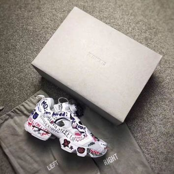 Reebok Instapump Fury Vetements Doodle Bs7031