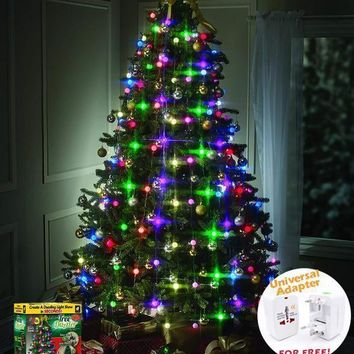 【HOT SALE】64 LED CHRISTMAS TREE LIGHTS TREE DAZZLER