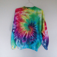 READY TO SHIP! Tie dye crewneck - Large