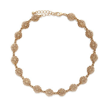 Jewelry Hollow Flower Choker Statet Necklace Gift For Girl