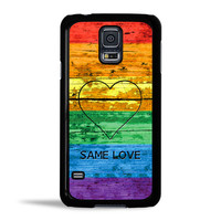 LGBT Same Love Rainbow Flag Case for Samsung Galaxy S5