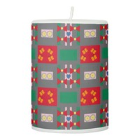 Bows and Butterflies Pillar Candle