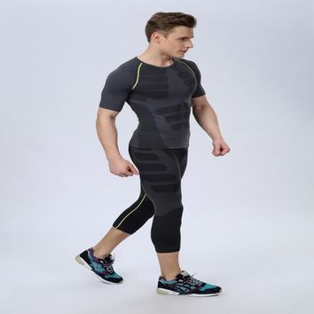 2018Absorb Sweat Quick-Drying Permeability Good Scalability Keep Tight Skin Comfortable Seamless Knitting Technology Shaping