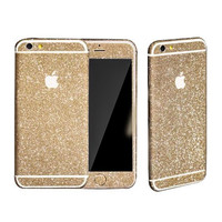 LIGHT GOLD GLITTER DECAL