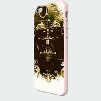 Star Wars Darth Vader Custom Case for Iphone 6 Plus White