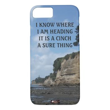 Cinch Photo Quote by Kat Worth iPhone 7 Case