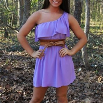 Spring Lilly Dress in Lilac