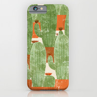 Cactus II iPhone & iPod Case by Grace