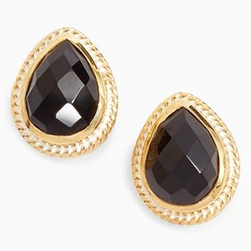 Anna Beck Black Onyx Stud Earrings | Nordstrom