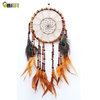Feather and Pearl Dream Catcher