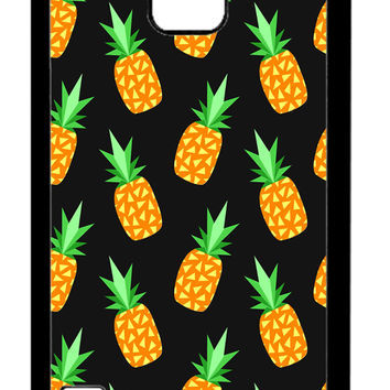 Pineapple Fruits iPhone Samsung Galaxy S5 Cases - Hard Plastic, Rubber Case
