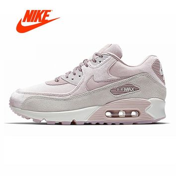 Original Authentic NIKE AIR MAX 90 LX Women's Running Shoes Sneakers Designer Outdoor Jogging gym Shoes 2018 Winter Athletic