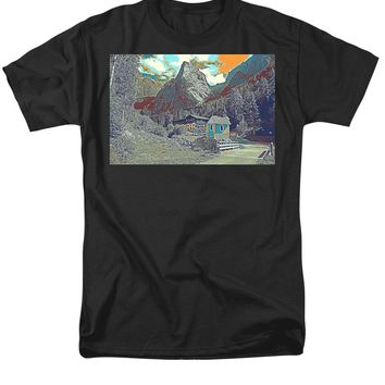 Swiss Alps - Men's T-Shirt  (Regular Fit)