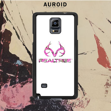 Pink Camo Deer Logo Realtree Samsung Galaxy Note 3 Case Auroid