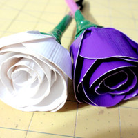 Duck Tape Duct Tape Flower Rose Pens Made to Order Other Types of Flowers and Bouquets Available