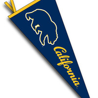 University of California Berkeley Golden Bears 12'' x 30'' Pennant | University of California, Berkeley