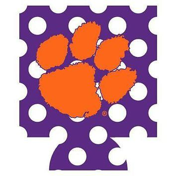 Clemson Tigers Can Koozie Holder Coozie Insulator