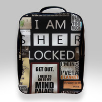 Backpack for Student - A Bunch of Sherlock Bags