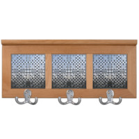 Chrome Celtic Knots Coat Rack