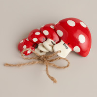 Toadstool Measuring Spoons - World Market