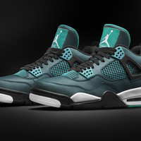 "Air Jordan 4 ""Teal"" - SneakerNews.com"
