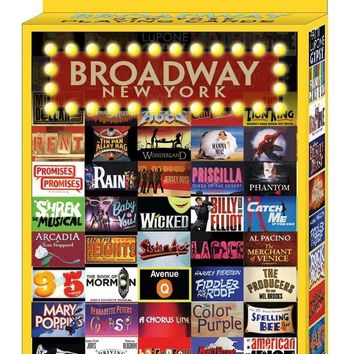 Broadway Shows Playing Cards