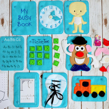 Busy Book Add On Pages  / Activity Book / Quiet Book