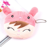 coin purse cute wallet kawaii bolsos money pouch monederos carteras kids cartera billeteras wallets gift bag purses rabbit