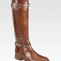 Tory Burch - Calista Leather Riding Boots