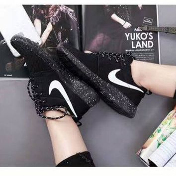 DCCKIG3 Women Nike Roshe One Shoes BlackProduct