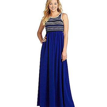 Sugarlips Maya Maxi Dress - Royal Blue