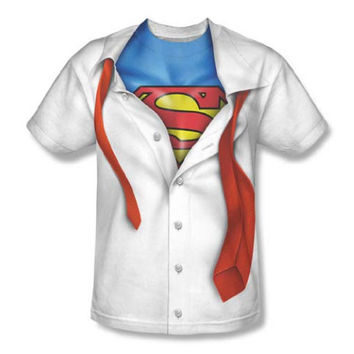 Superman Clark Kent Costume Mens T-Shirt