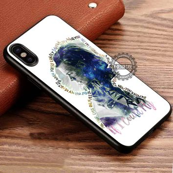 Harry Styles If I Cloud Fly iPhone X 8 7 Plus 6s Cases Samsung Galaxy S8 Plus S7 edge NOTE 8 Covers #iphoneX #SamsungS8