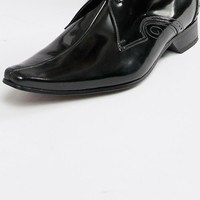 Jeffery West Pino center seam shoes in black at asos.com