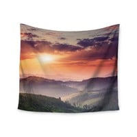"""Sunset Wander"" Wall Tapestry"