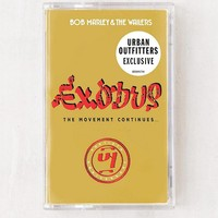 Bob Marley & The Wailers - Exodus 40 Limited Cassette Tape | Urban Outfitters