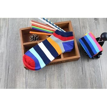 Men's Socks Hot-Sell Socks Slippers Shallow Mouth Invisible Fashion Trend Hit Color Cotton Casual Breathable Boat Sock