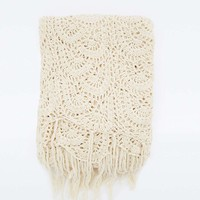 Crochet Throw - Urban Outfitters