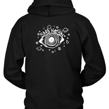 5 Second Of Summer National Logo 5Sos Hoodie Two Sided