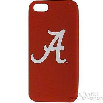 Alabama Crimson Tide iPhone 5 Non-Slip Silicone Cell Phone Case University of
