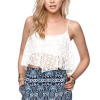 LA Hearts Tribal Elastic Back Shorts at PacSun.com