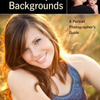 Backdrops and Backgrounds (A Portrait Photographers Guide) - BOOK-1976