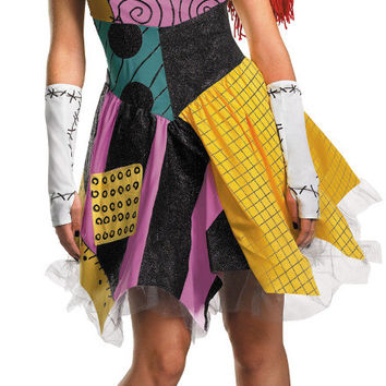 women's costume: sassy sally | large