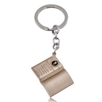Vintage Death Note Pattern Keychain