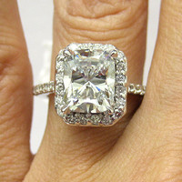 351ct Antique Vintage Cushion Cut Diamond by TreasurlybyDima