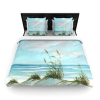 "Rosie Brown ""Sea Oats"" Woven Duvet Cover"