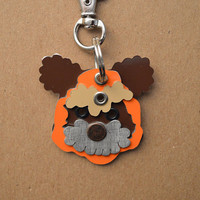 Ewok Pet Tag Dog ID Metal Princess Leia Teddy Bear Death Star