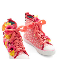 Irregular Choice Statement Flower Fanatic Sneaker